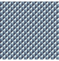Pattern from of volume silvery rhombuses vector image