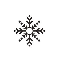 single snowflake icon vector image