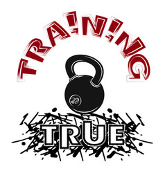 true training 4 weight vector image