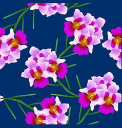 Vanda miss joaquim orchid singapore national vector