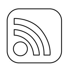 figure symbol wife icon vector image