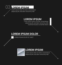 Digital information labels digital callouts vector