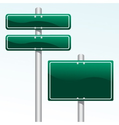 direction sign vector image vector image