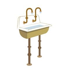 Icon sink vector