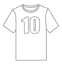 line art black and white t-shirt vector image