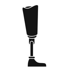 Medicine artificial limbs icon simple style vector
