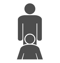 oral sex persons flat icon vector image