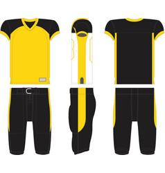 Playmaker american football jersey vector