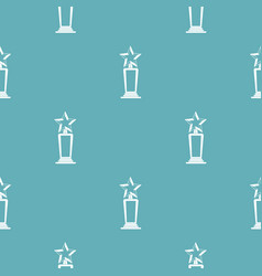 star award pattern seamless vector image