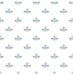 Victorian bastion pattern seamless vector