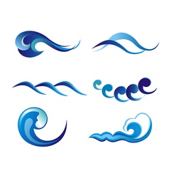 water vector vector image