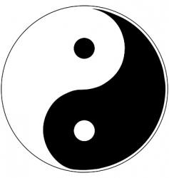 Yin yang vector