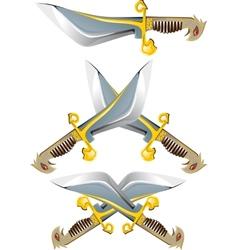 battle Knife vector image