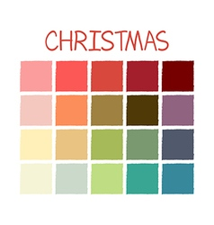 Christmas Colorful Color Tone vector image