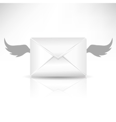 Envelope and Wings vector image