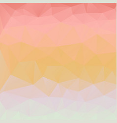 Abstract pastel background of triangles vector