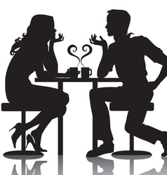couples vector image