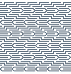 Geometric abstract seamless pattern linear motif vector