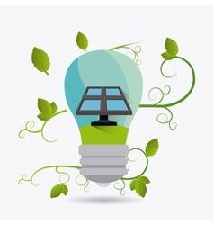 Green energy ecology design vector