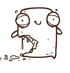 Hand Drawn Zombie Cartoon vector