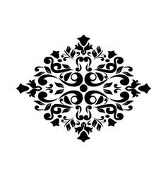 Image of black patterns vector