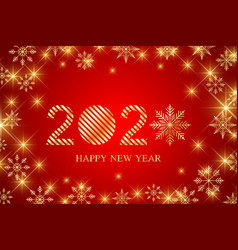 Text design 2020 christmas and happy new years vector