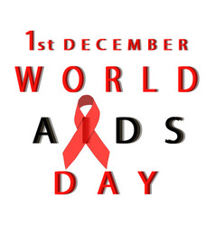 the aids vector image