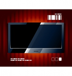tv panel vector image