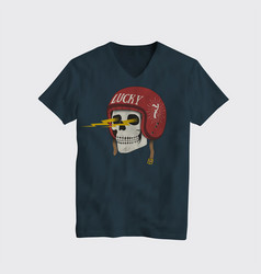 t-shirt template vintage vector image