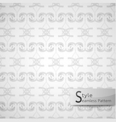 abstract seamless pattern ribbon bow lattice vector image