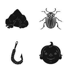 laughter rest ecology and other web icon in vector image vector image