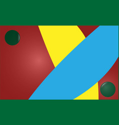 abstract background yellow blue burgundy green vector image
