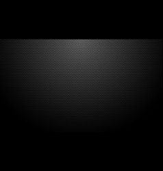 Black carbon fiber texture background design vector
