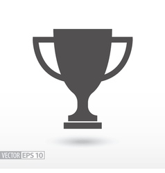Champions cup Sign trophy cup vector image