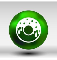 Donut sign Branding Identity Corporate logo design vector image
