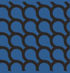 elegant geometric seamless pattern vector image