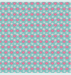flower pattern design vector image