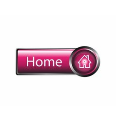 Home button design element vector