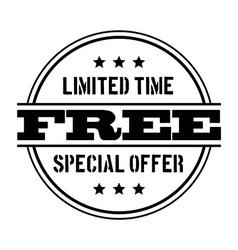 Offer design vector