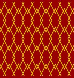 Red diamond pattern vector