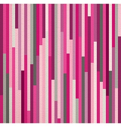 Seamless pattern pink vintage striped geometric vector