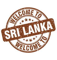 Welcome to sri lanka vector