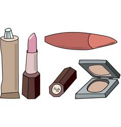 women s cosmetics vector image