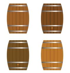 Barrel set vector