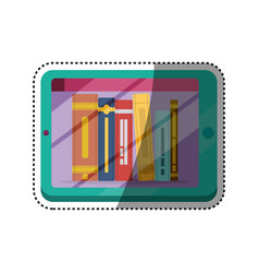 e-books books purchase and download vector image vector image