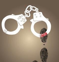 handscuf vector image