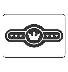 Champion belt icon 4 vector image vector image
