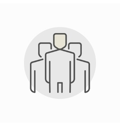 People creative icon vector image
