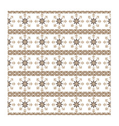 Abstract seamless background design ornamental vector