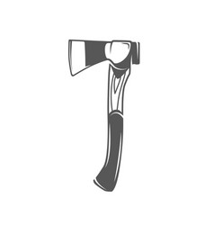 Axe isolated on white background vector